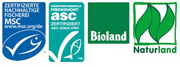 © MSC / ASC / Bioland / Naturland