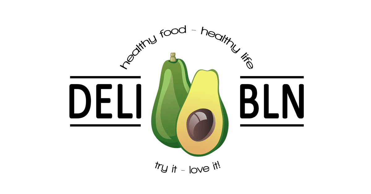 DELi-BERLIN.com | healthy cooking - healthy living - try it. love it! logo