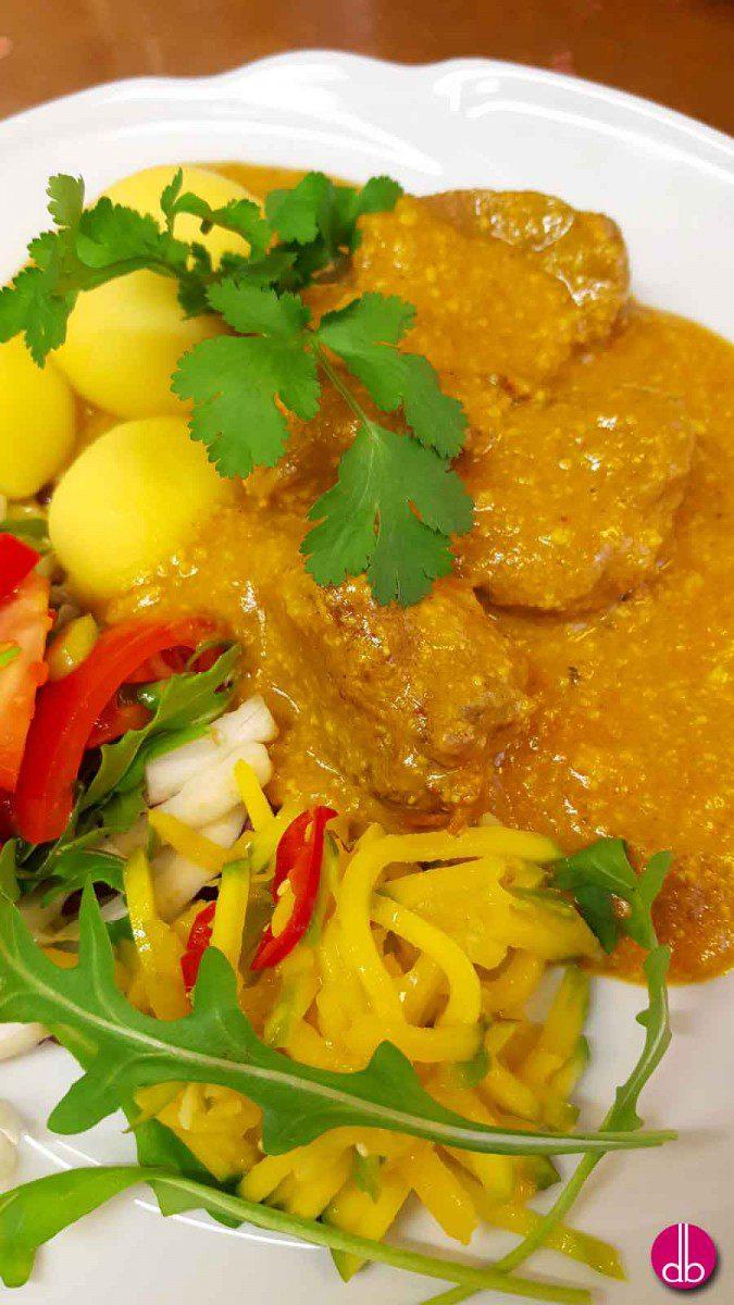 rezept hirsch masala curry deli gesund kochen gesund leben try it love it. Black Bedroom Furniture Sets. Home Design Ideas