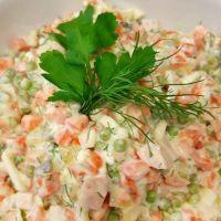 "Russian salad ""Olivje"" - light"