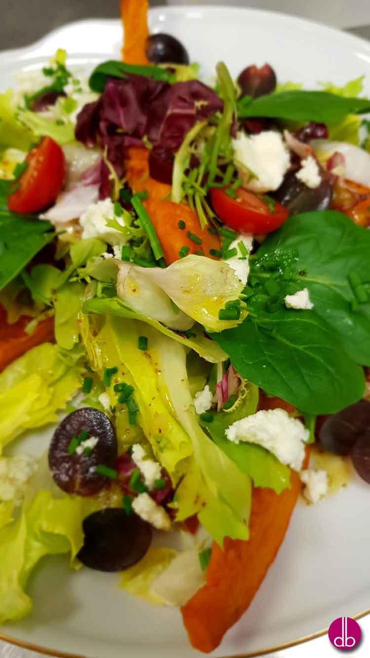 Salat-Rezept für den Winter Herbsterntesalat