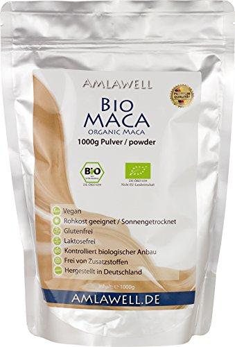 Amlawell-Bio-Maca-Pulver-1000g-BIO-DE-KO-039-0