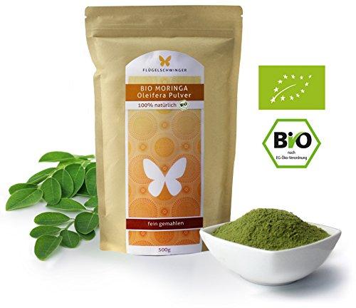 Bio-Moringa-Oleifera-Blatt-Pulver-DE-KO-012-aus-jungen-Blttern-ohne-Zustze-Rohkostqualitt-schonende-Verarbeitung-bei-niedrigen-Temperaturen-0