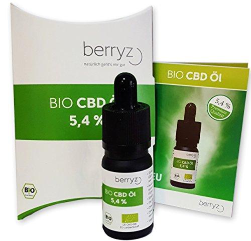 CBD-l-BIO-54-Prozent-berryz-Hanfl-Cannabis-l-Hanf-Tropfen-10-ml-CBD-Liquid-Oil-PLUS–540mg-Cannabidiol-0