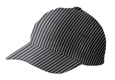 Cap-Basecap-Kochmtze-Kochhut-in-Nadelstreifen-oder-Pepita-aus-100-Baumwolle-ca-230gr-Unisex-0