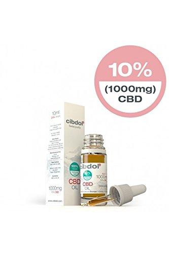 Cibdol-CBD-l-10-Reinheitsgehalt-10ml-Hochwertigstes-CBD-l-CO2-Extrahiert-0