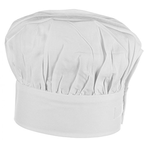 Kinderkochmtze-Kchenmtze-Gastromtzen-Kochhaube-Klettverschluss-0