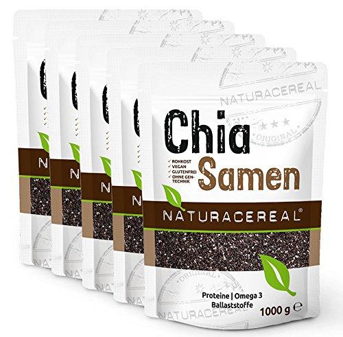 NATURACEREAL-Premium-Chia-Samen-5x-1-kg-Vegan-naturbelassen-und-ohne-Gentechnik-In-Deutschland-geprfte-Qualitt-Proteine-Omega-3-und-Ballaststoffe-0