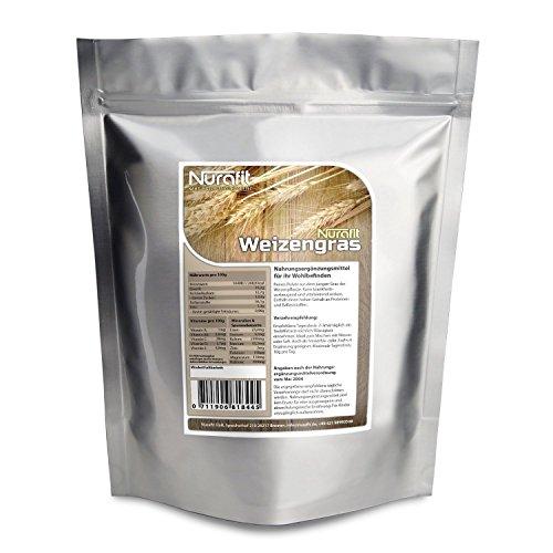 Nurafit-Weizengraspulver–reines-Weizengras-aus-schonender-Herstellung-Veganes-Superfood-mit-vielen-Vitaminen-und-Mineralstoffen-0