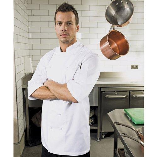 Premier-Mens-Ambassador-Short-Sleeve-Chefs-Jacket-White-XSSMLXLXXL-0