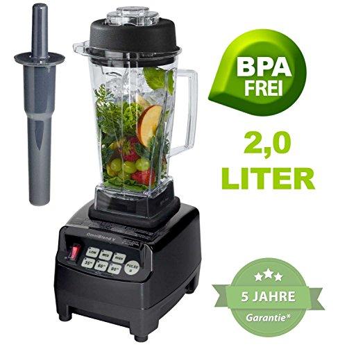 Profi-YaYago-Smoothie-Maker-Power-Mixer-Blender-Icecrusher-mit-Edelstahlmesser-bis-zu-38000-Umdrehungen-Minute-ideal-fr-Smoothies-0