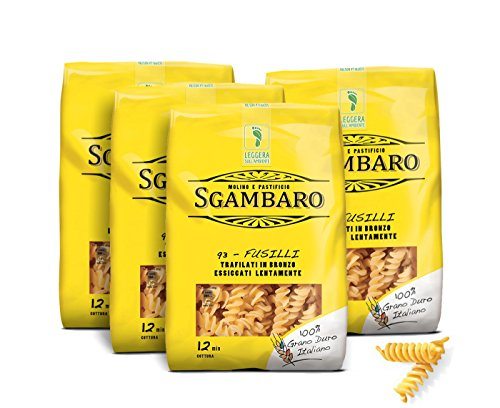 Sgambaro-Fusilli-Maccaroni-Italienische-Nudeln-Italienische-Pasta-Bronze-4er-Pack-4x500g-0
