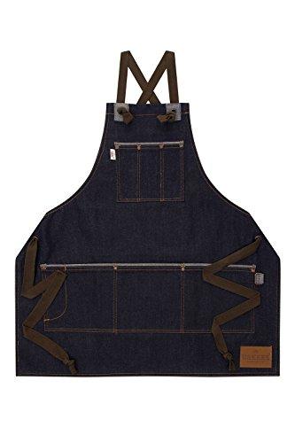 USKEES-CASTLEFIELD-Jeans-Schrze-indigo-denim-Grn-Verstellbare-Trger-Latzschr-CASTLEFIELDIND-0