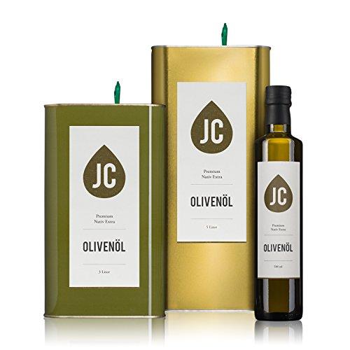 JC-Olivenl-Premium-Nativ-Extra-In-3-Gren-erhltlich-500ml-3-Liter-5-Liter-Neue-Ernte-0