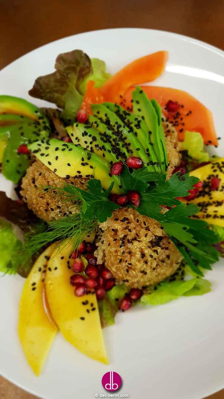 fruchtig frischer Sesam-Quinoa - vegan