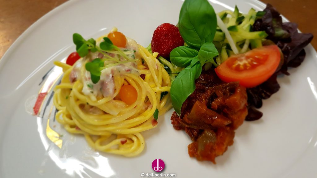 original italienische Spaghetti Carbonara Rezept