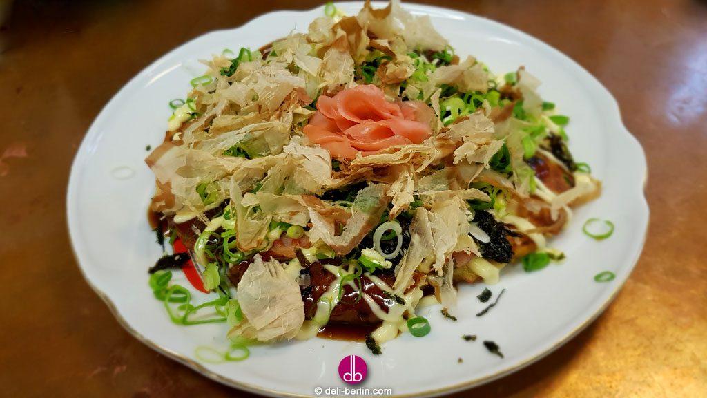 Okonomiyaki - お好み焼き nach Osaka Art