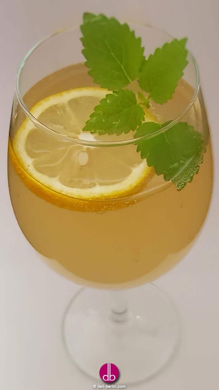 Mate-Limonade selber machen