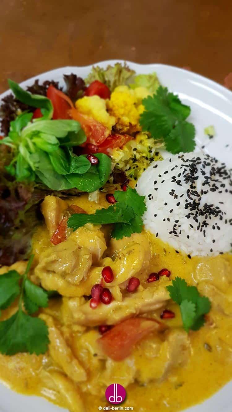 einfaches leckeres Tandoori Chicken Curry