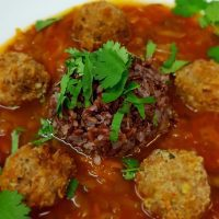 mexikanische Albóndigas Suppe