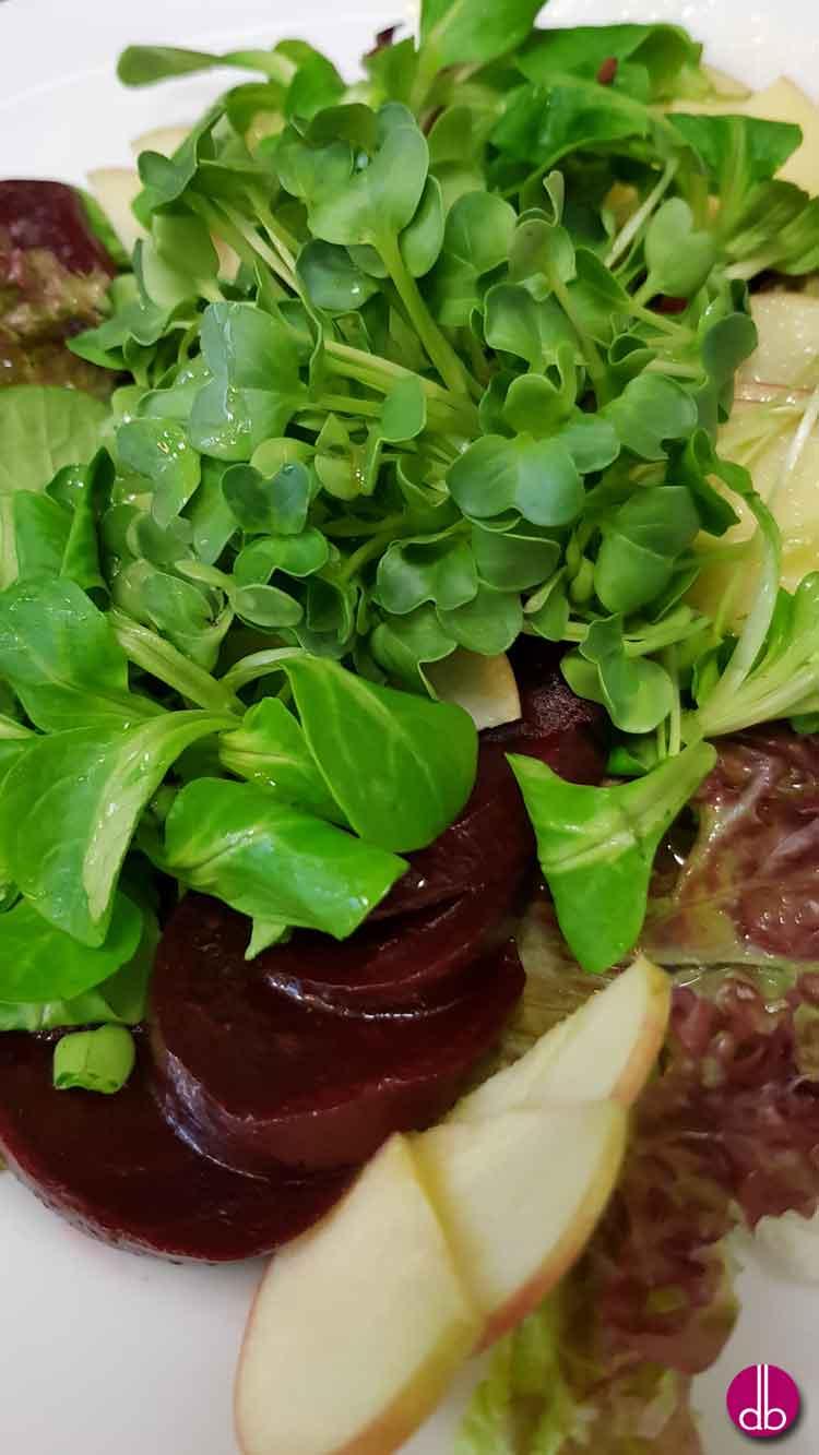 Brunnenkresse Roter Bete Salat