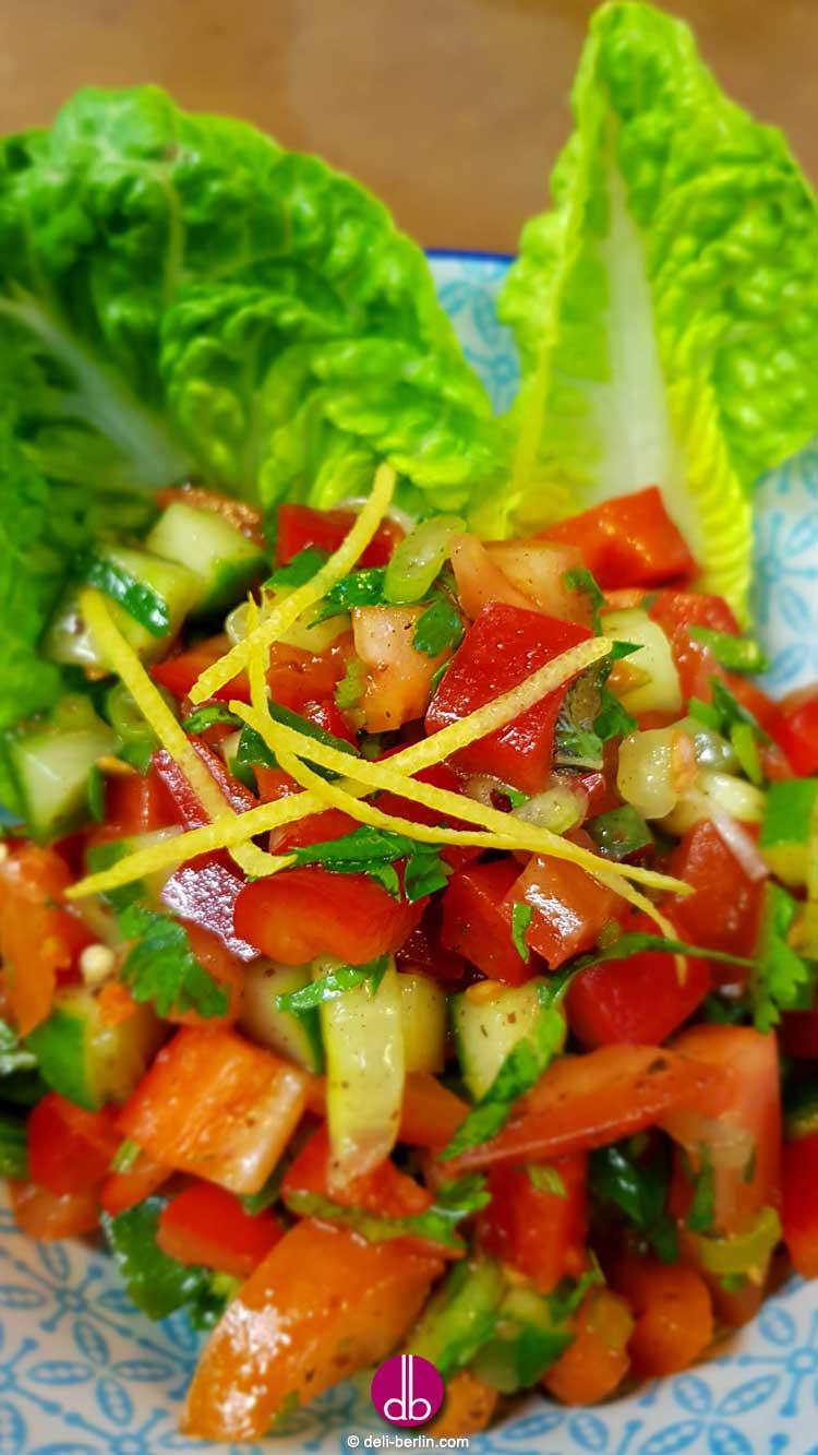 israelischer-gurken-tomaten-salat