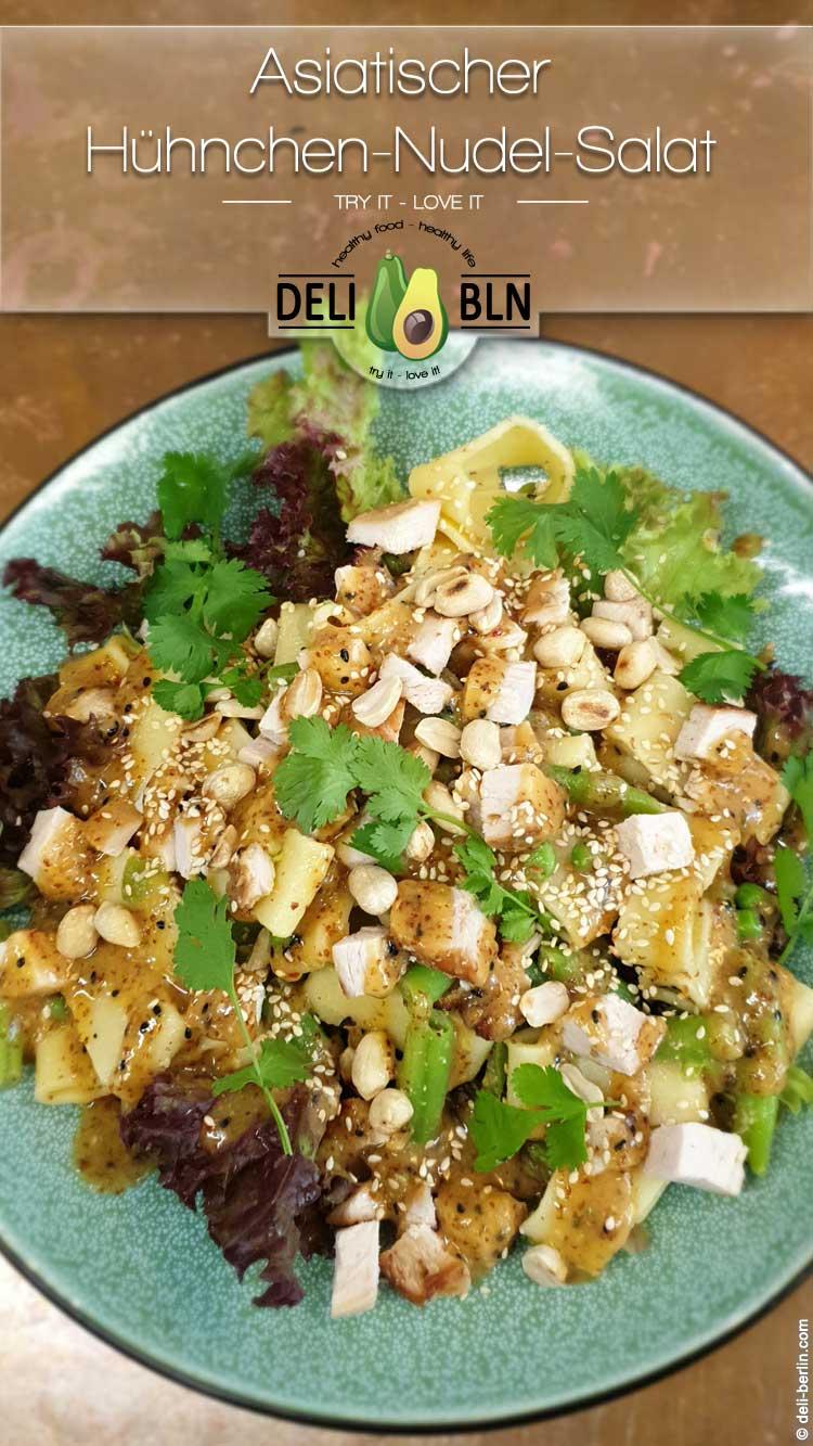 Asiatischer Hühnchen-Nudel-Salat