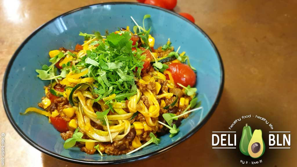 Burrito Zoodles (low-carb)
