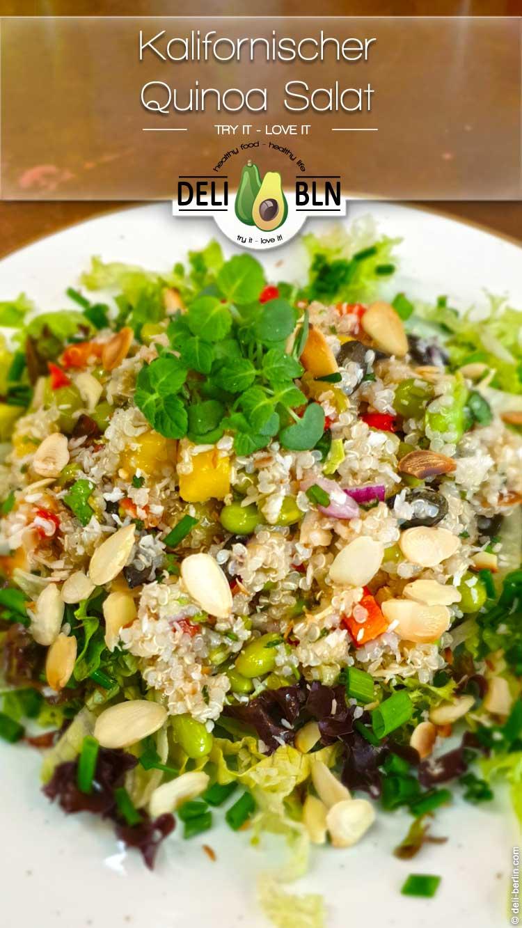 veganer Kalifornischer Quinoa-Salat