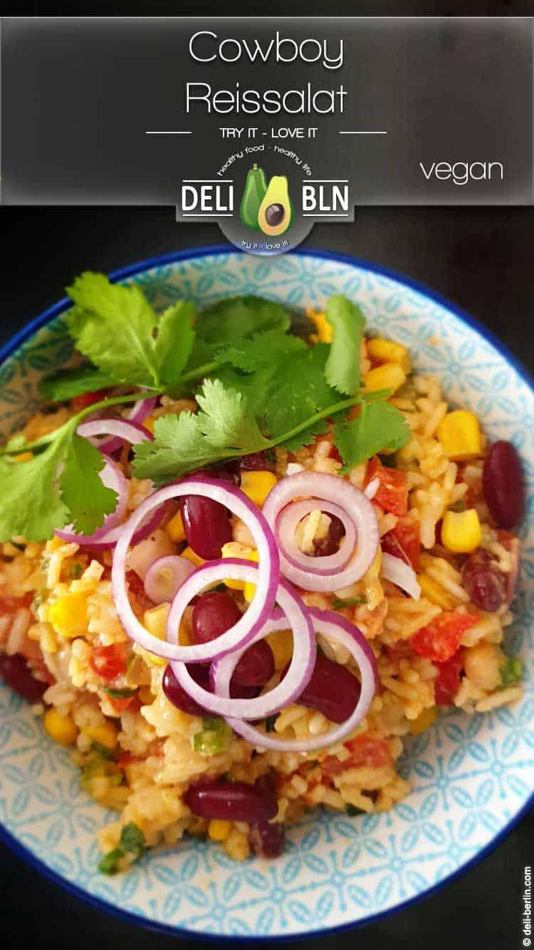 Cowboy-Reissalat - vegan & glutenfrei