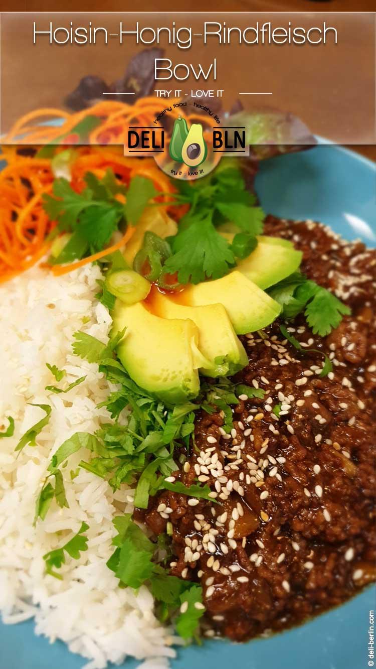 Umami-Honig-Rindfleisch-Bowl