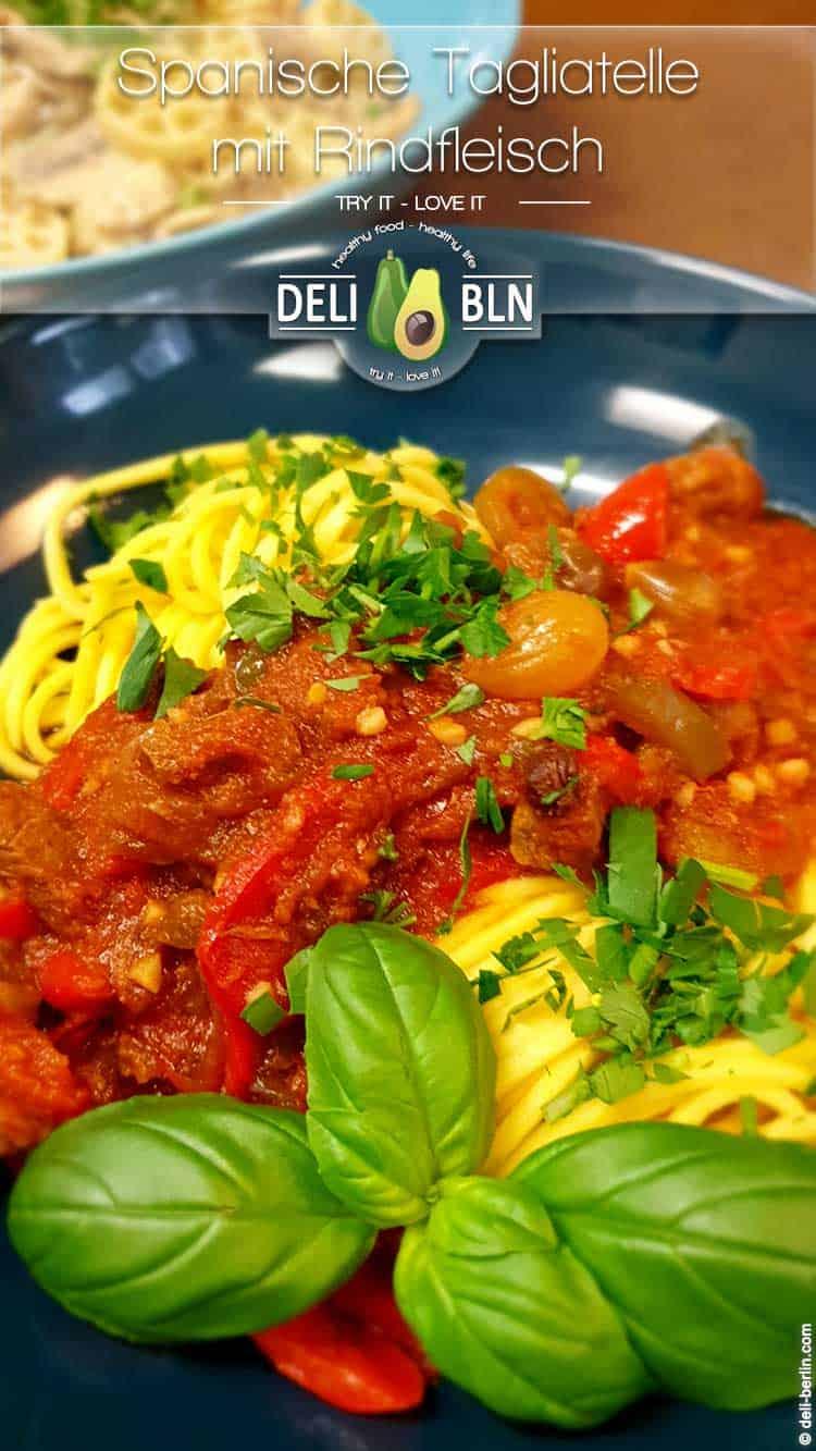 Rezept: Pasta mit Rindfleisch-Ragout