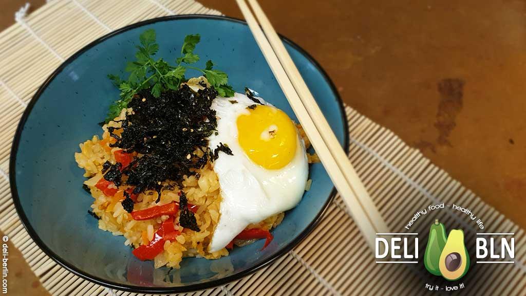 Rezept: Gebratener koreanischer Kimchi Reis
