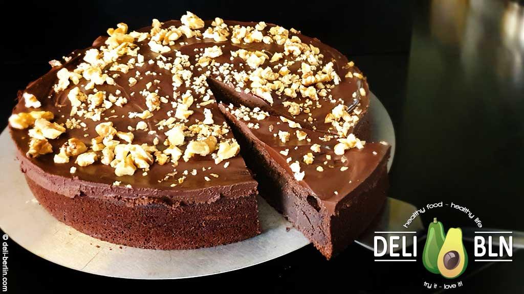 Rezept: Irish Stout Cake - Guinness-Schoko-Torte