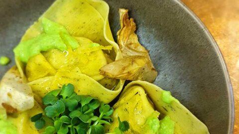 Rezept: Tortellacci mit Artischockenfüllung und Zitronenbutter