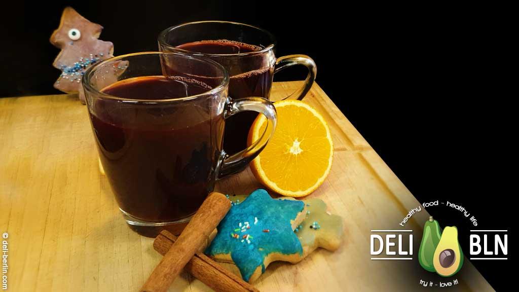 alkoholfreier Johannisbeer-Orangen-Punsch