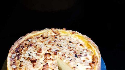 Klassischer Apfel-Schmand-Kuchen