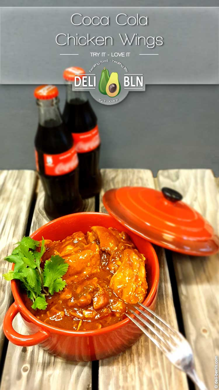 Sticky Coca-Cola Chicken-Wings