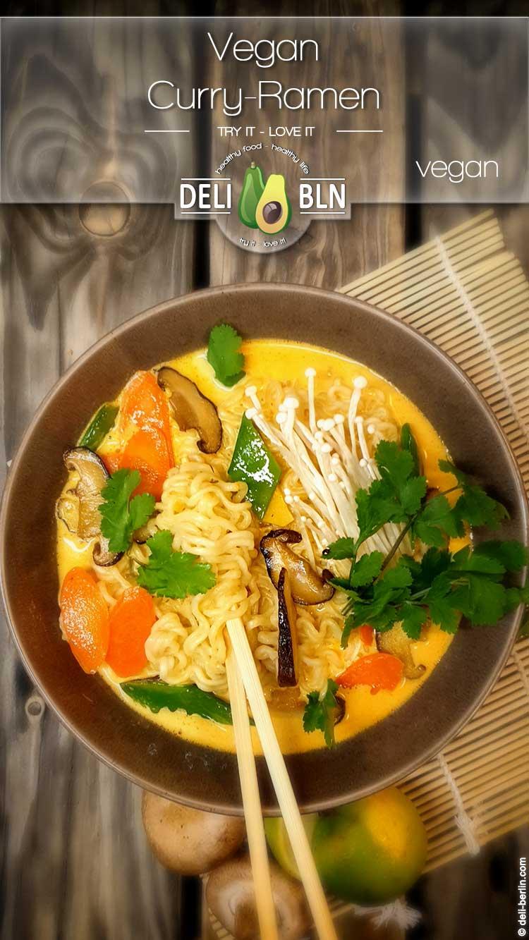 Kokos Curry Ramen vegan