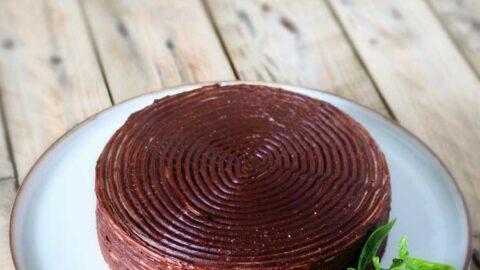 Karlsbader Oblaten-Torte - Kuchen ohne Backen